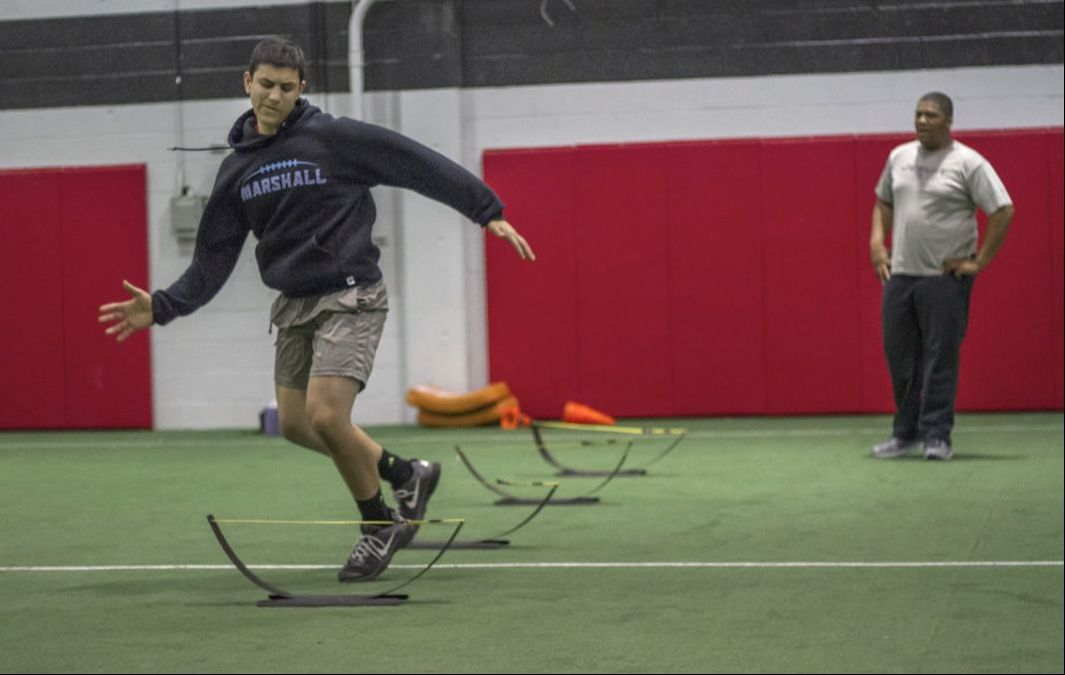 footwork drills for high school at PP Nova
